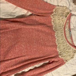 Light  peach Maurice's sweater